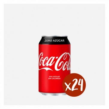 Coca-cola zero (Caixa 24 x 0,33L)