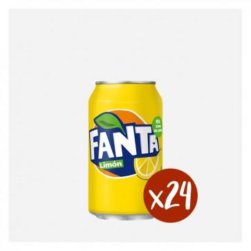 Fanta Llimona (Caixa 24 x 0'33L)