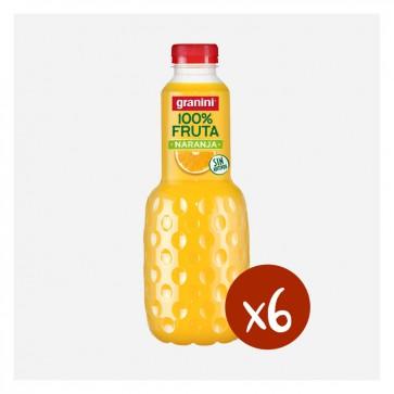 Granini Taronja 100% (Caixa 6 x 1L)