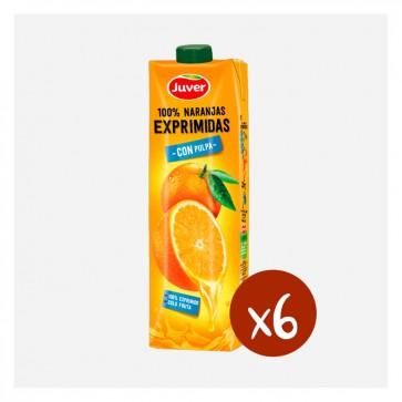 Juver 100% Taronja Espremuda (Caixa 10 x 1L)