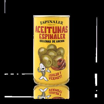 Olives farcides d'anxova ESPINALER 350 G