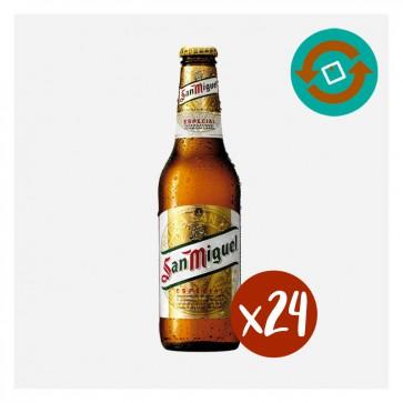 San Miguel (Caixa 24 x 0'33L) Retornable