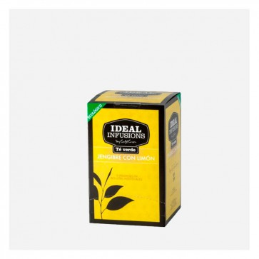 IDEAL INFUSIONS Te Verde gingebre i llimona ecològica