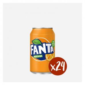 Fanta Taronja (Caixa 24 x 0'33L)