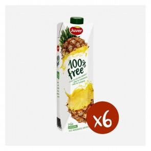 Juver Pinya 100% Free (Caixa 10 x 1L)