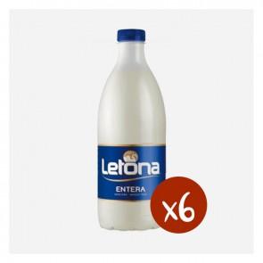 Llet Letona Sencera (Caixa 6 x 1'5L)